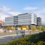 HasleLinje K2B - nytt HQ Securitas